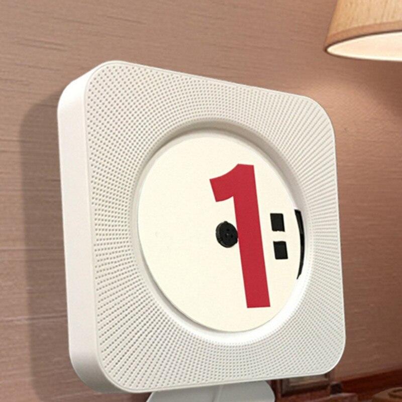 DOITOP intégré Bluetooth lecteur CD mural prénatal Audio anglais répétition apprentissage Machine Support CD AUX USB FM jouer à chaud