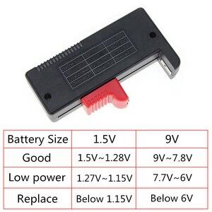 Image 2 - BT 168D Digitale Batteria di Capacità Strumento di Diagnostica Tester Della Batteria Delle Cellule del Tasto Display LCD di Controllo AAA AA Tester Universale