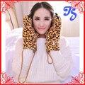 Encantador Animal pata de urso luvas de garra de tigre leopardo mais quente