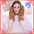Winter Lovely Cartoon Animal Paw Gloves Fashion Bear Tiger Leopard Plush Claw Gloves Warmer Full Finger Gloves