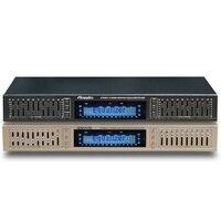 Eq665 equalizador febre alta fidelidade eq casa equalizador duplo 10 banda estéreo agudos alto baixo ajuste