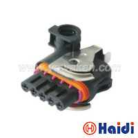 Free shipping 2sets 5pin generator socket plastic waterproof wiring harness cable connector 18242000000
