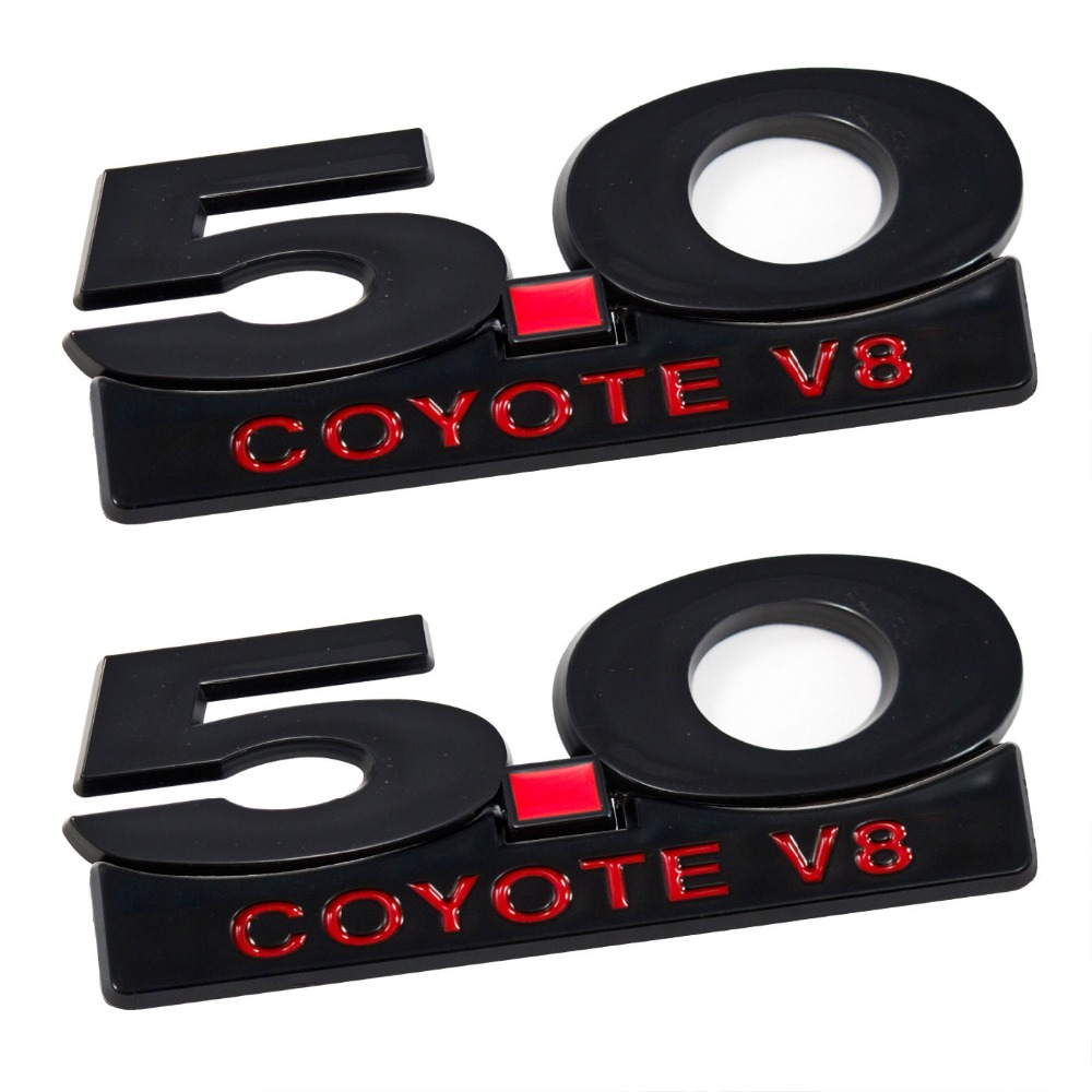 5.0 coyote emblem promotion-shop for promotional 5.0 coyote emblem