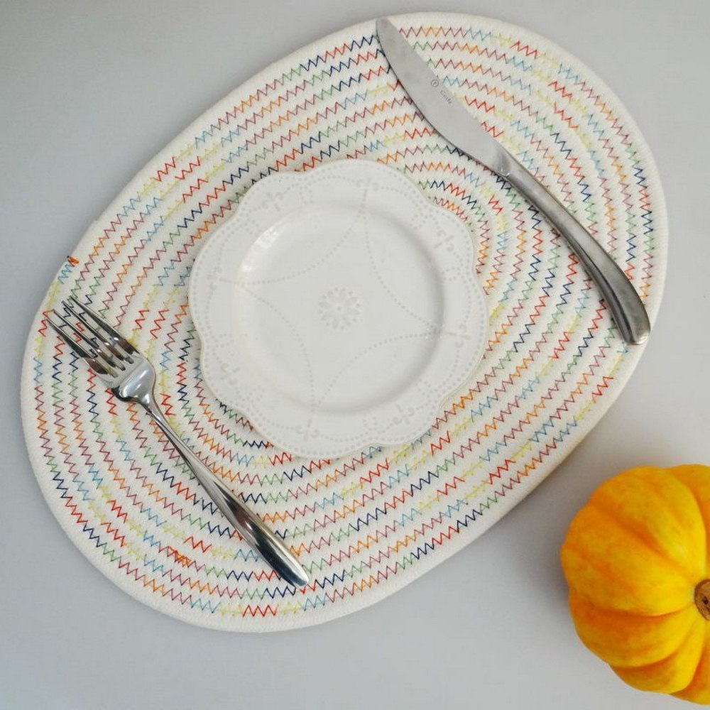 Natural Placemats Table Mat Coasters  Heat Insulation pads Straw Dining Woven Cup Rattan Drink Coaster Kitchen Accessories