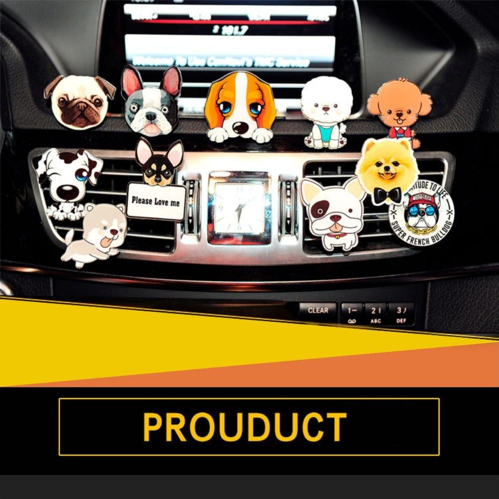 creative tide cute dog car interior accessories automotive. Black Bedroom Furniture Sets. Home Design Ideas