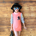 Garment And Winter Fund Girl Rendering Unlined Upper Thickening Long Sleeve T Pity Long Children Warm T-shirts Kids Clothing