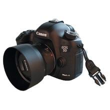 جديد ES68 ES 68 عدسة الكاميرا هود لكانون EOS EF 50 مللي متر f/1.8 STM شحن مجاني 49 مللي متر حامي عدسة جديد تماما hot البيع