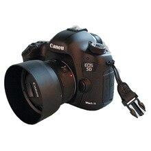 Yeni ES68 ES 68 için Kamera Lens Hood Canon EOS EF 50mm f/1.8 STM Ücretsiz kargo 49mm lens koruyucu marka yeni sıcak satış