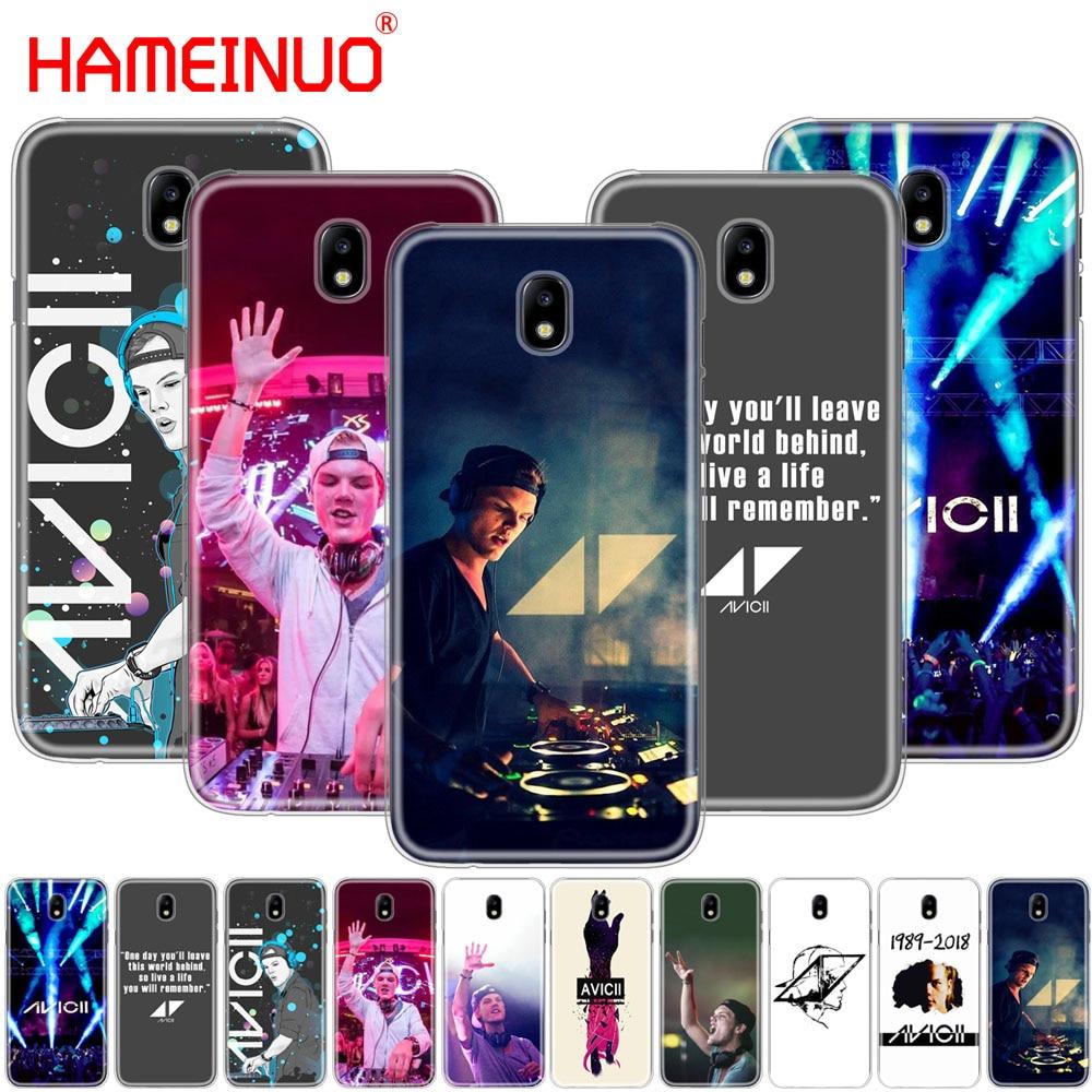 HAMEINUO Avicii DJ Tim Bergling cover phone case for Samsung Galaxy J3 J5 J7 2017 J527 J727 J327 J330 J530 J730 PRO
