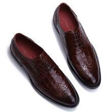 Brogue резные мужские туфли кожаные летние с острым носком деловая Повседневная Ретро английские туфли свет снизу платье свадебные туфли