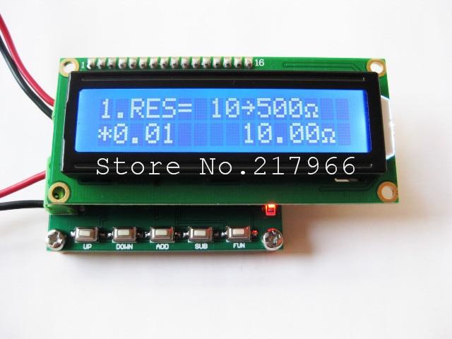 1 ШТ., RTD калибратор сопротивление генератор сигналов генератор импульсов, Бесплатная доставка