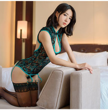 Sexy Lingerie Women Hot Lace Peacock Embroidery Cosplay Erotic Costumes Lingerie Sexy Underwear Sexi Woman Lingerie+Sexy Garter