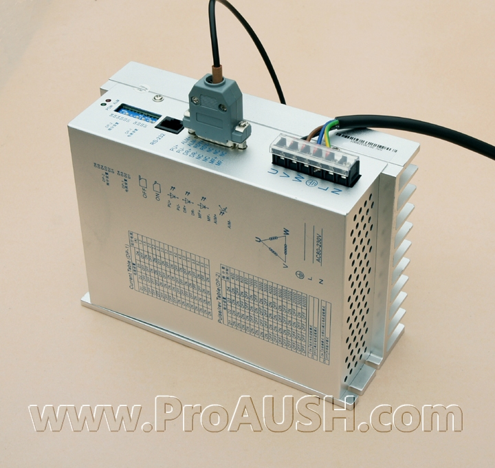 FREE SHIPPING High Pressure 130 3 Three Phase Stepper Motor Driver Pas3-10722 Ac220-80v 7a