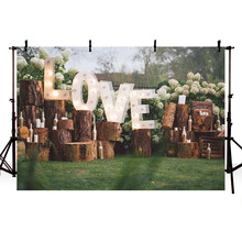 цена на MEHOFOTO Green Lawn Photography Backdrops Wooden Decoration Vinyl Photography Photo Props 7x5ft Studio Wedding Background