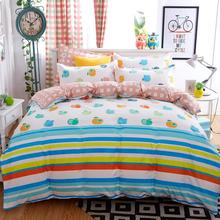 Home Textiles,colorful apples style bedding sets 3/4Pcs of duvet cover bed sheet pillowcase King queen full twin size bedclothes