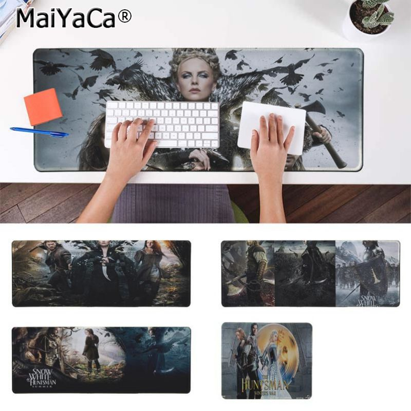 Yinuoda Simple Design Huntsman Keyboard Gaming MousePads Size for 180*220 200*250 250*290 300*900 and 400*900*2mm