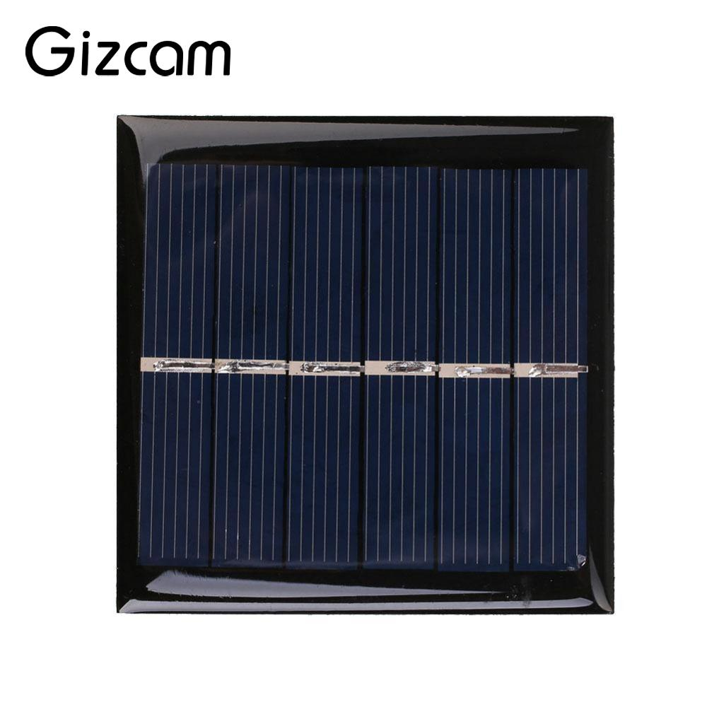 Mini Solar Panels Solar Cells Battery Power Supply Energy Charger Silicon Panel 0.6W 3V Portable High Quality