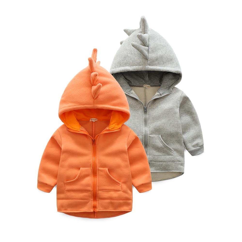 Designer Baby Girls Boys dinosaur Hoodie Cotton Tops Newborn Kids Clothes For Spring Autumn 3m~24m