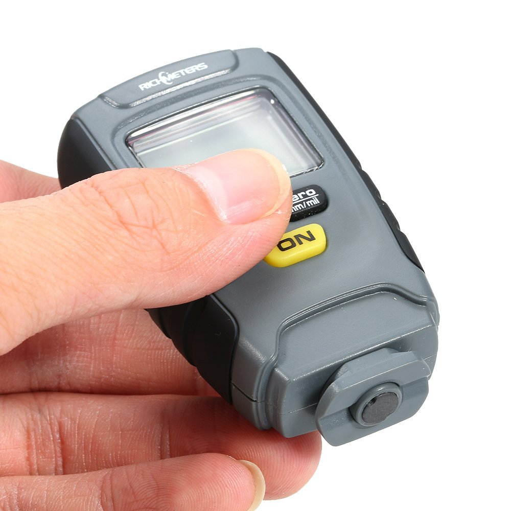 Fe 25mm 1 Paint Base Gauge Coating 0 For Car Metal Instrument Tester RM660 Aluminum Iron Thickness NFe Handheld Digital
