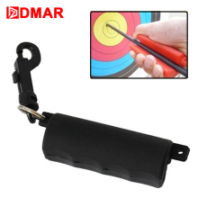 DMAR Silica Gel Archery Arrow Gripper Puller Target Hunting Shooting Bow Pull Remover With Keychain Accessories