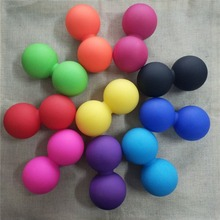 Portable Size Soft Silicone Yoga Double Massage Ball Fitness Relax Muscles Thera