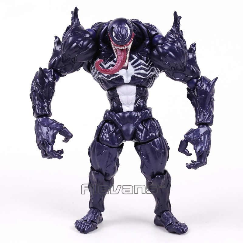 Revoltech Serisi NO. 003 Venom PVC Action Figure Koleksiyon Model Oyuncak