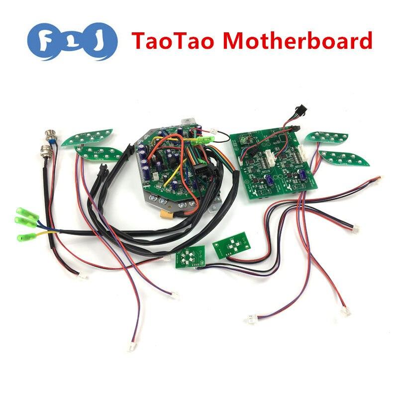 Prix pour TaoTao PCB Réparation pour 6.5/8/10 pouce 2 Roues Auto Équilibrage Scooter TaoTao Commande De la Carte Mère Hoverboard pièces