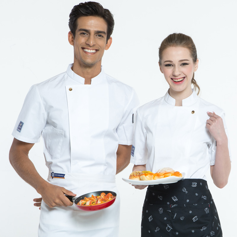 Chef Uniform Short Sleeve Professional Chef Unified