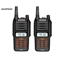2pcs Baofeng UV 9R Waterproof Walkie Talkie 8W Two Way Radio Dual Band Handheld 10km long range UV9R CB Ham portable Radio