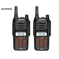 2pcs Baofeng UV 9R Waterproof Walkie Talkie 8W Two Way Radio Dual Band Handheld 10km long range UV9R CB Ham portable Radio