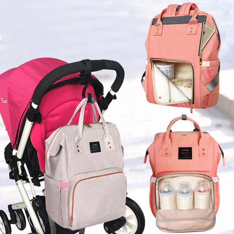 1c0a835ca ... LAND Bag Dropshipping Diaper Bag Backpack Mummy Bag Maternity  Multi-colored Bag For Baby Care ...