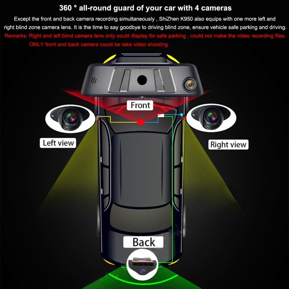 zuczug 360-degree panoramic 4CH Cameras lens 10