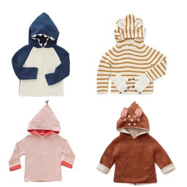 Kids Sweater 2019 autumn winter bobo choses oeuf girls boys