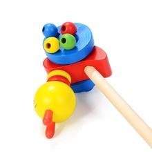 Toddler Wooden Push Trolley Walker Assistant Toys