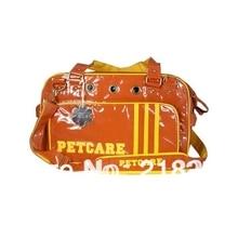 Коричневый цвет дизайн полиэстер лямки Pet переноска для собак Сумка Собаки модная сумка