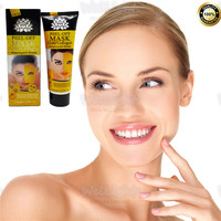 24K Gold Collagen Snail Moisturizing Mask Whitening Facial Mask For Freckle Removing Facial Masks Smooth Face