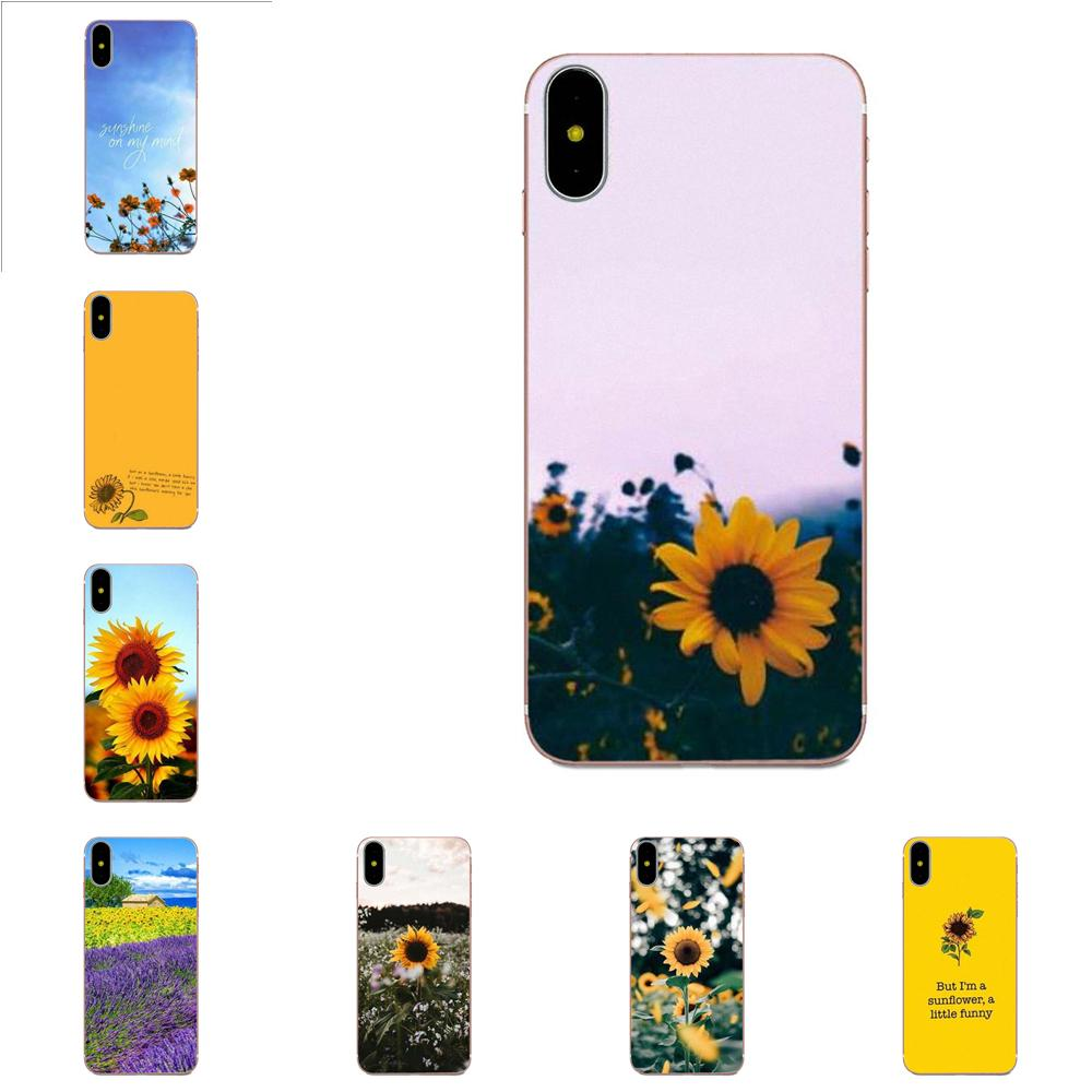 For Xiaomi Redmi Mi Note 7 8 9 SE Pro Lite Go Play Soft Capa Cover Sunfowers Fantasy Show image