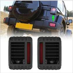 2 шт. высокого качества в европейском и американском версия LED фонарь стоп Обратный сигнал света для Jeep Wrangler