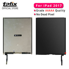 купить By DHL TPFIX For iPad 2017 LCD Grade AAAAA 100% Tested Well For iPad 2017 Screen Display 9.7 Inch A1822 A1823 Tablet Replacement