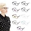 9 Color Caliente óptico miopía gafas de lente transparente gafas nerd friki gafas de marca marcos de las lentes de sol sombra para los hombres mujeres