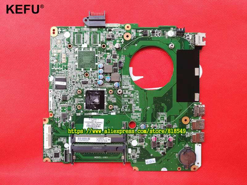 Original Mainboard Fit For HP Pavilion 15 15-N Series 734826-501 A4-5000 CPU Laptop Motherboard DA0U93MB6D0 high quality laptop motherboard for 15 n da0u93mb6d0 734826 501 734826 001 system board fully tested