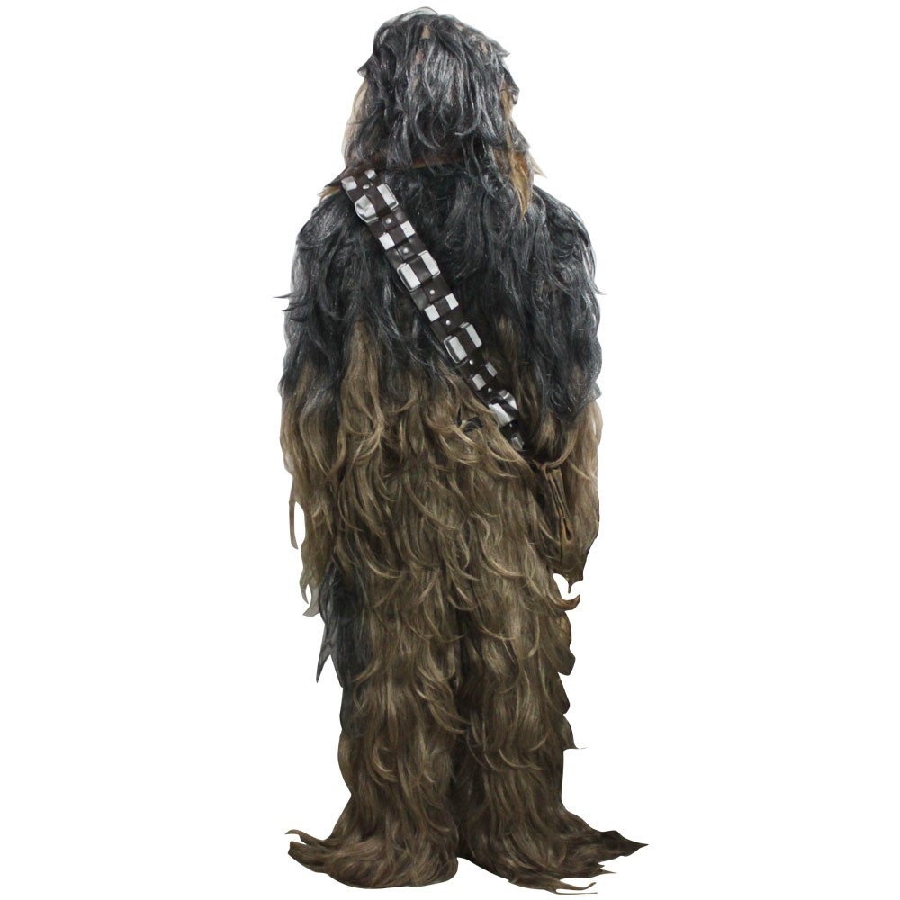 Star Wars 7 Series Cosplay Chewbacca Halloween Suit Costume3