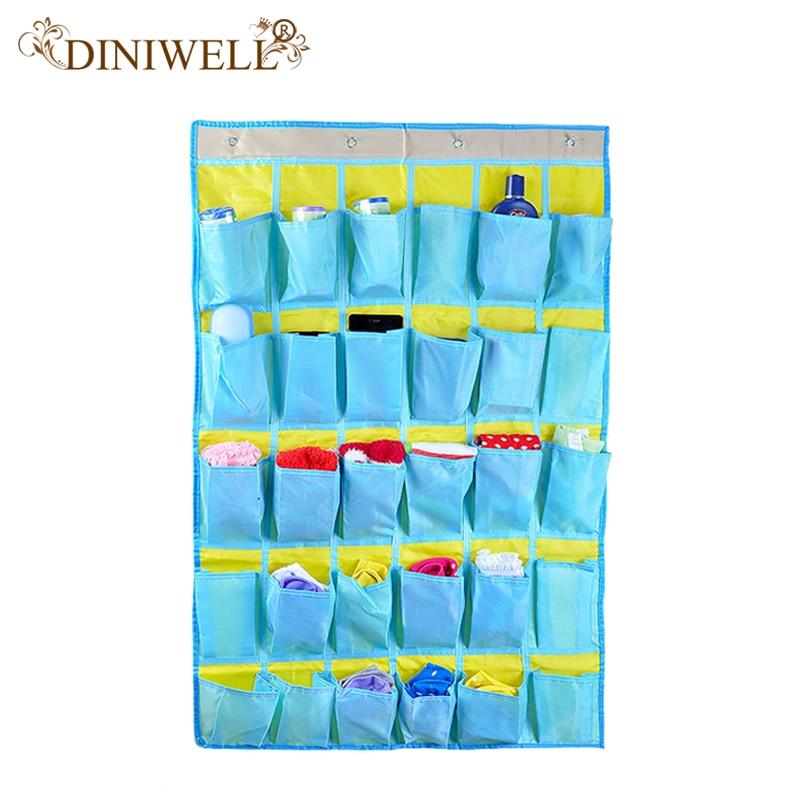 DINIWELL Inicio Tidy Calcetines Bufanda Guantes Puerta de la pared - Organización y almacenamiento en la casa