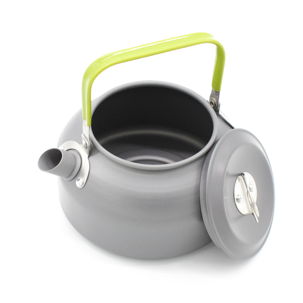 / 0.8L Portable Ultra-light Anodised Aluminum Water Kettle Outdoor Hiking Camp Cookware Survival Water Kettle Teapot Coffee Pot