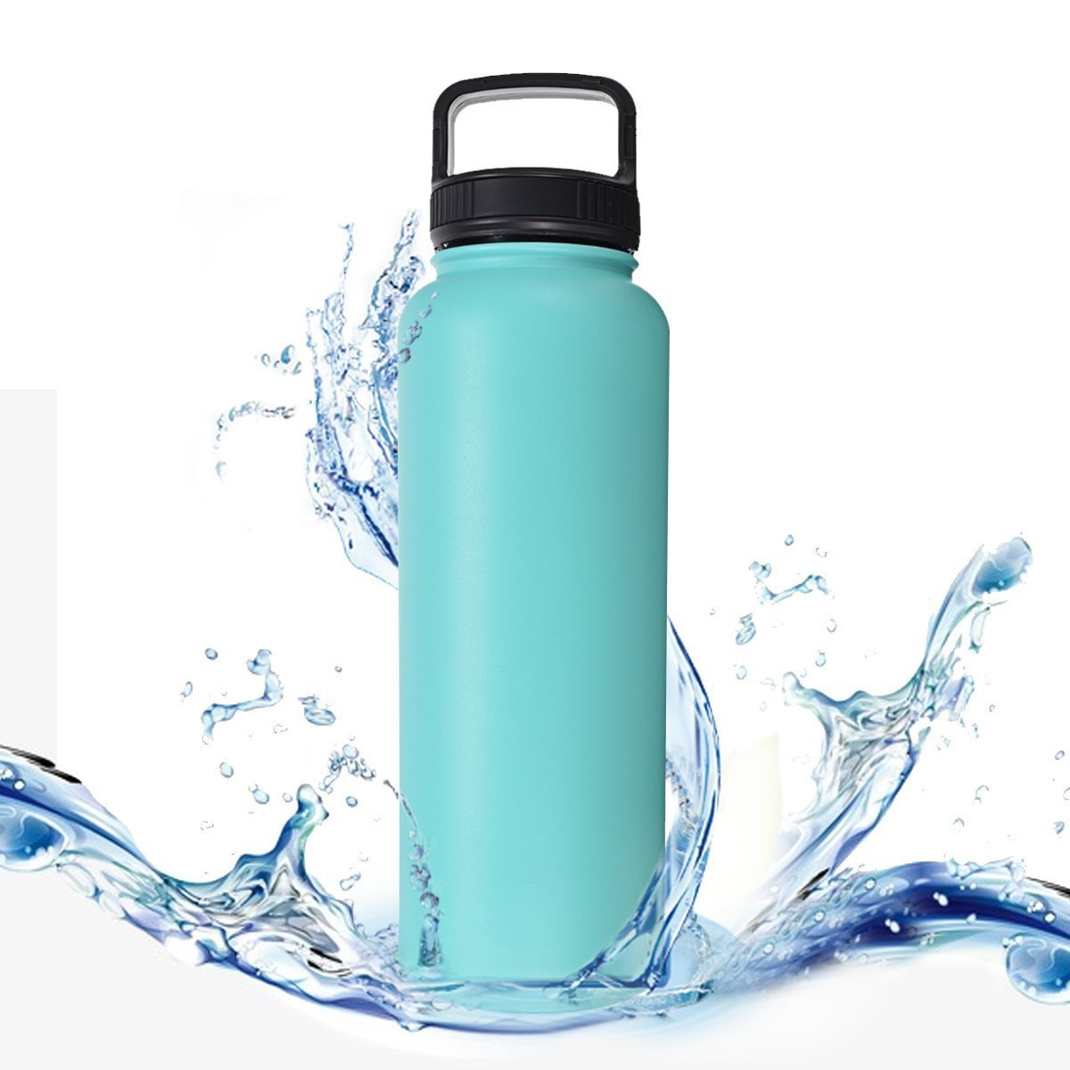 40OZ/1200ML Stainless Steel Insulated Water Bottle Vacuum Flasks Coffee Travel Mug Termo Thermal Cup Tumbler Thermos Bottle