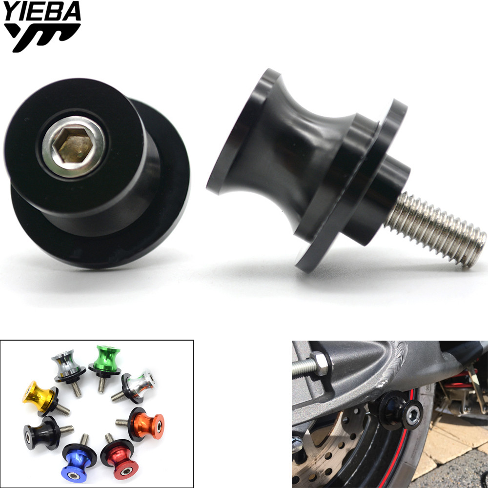 Blue Motorcycle 8mm Swingarm Swing Arm Spool Slider Stand Bobbin for CBR600RR