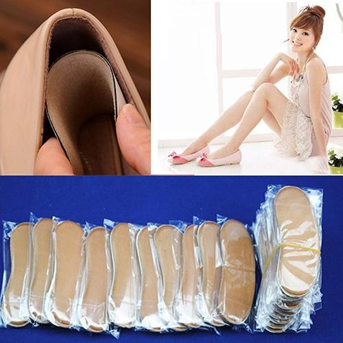 5 Pairs Comfortable Soft Cushion Protector Foot Care Insole High Heel Shoes Pads