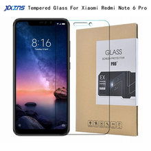 Tempered GLASS For Xiaomi Redmi Note 6 Pro Global Version 3GB 4GB 32GB 64GB Smartphone Snapdragon 636 Screen Protective Film package xiaomi redmi note 4x 3gb ram 32gb rom smartphone black