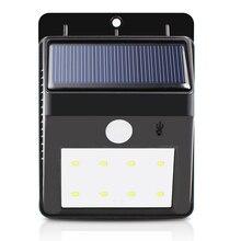 4/6/8 светодиодный S Перезаряжаемые Солнечный свет SMD2835 открытый светодиодный солнечных батареях настенный светильник Водонепроницаемый инфракрасный Сенсор освещение ALUVEE