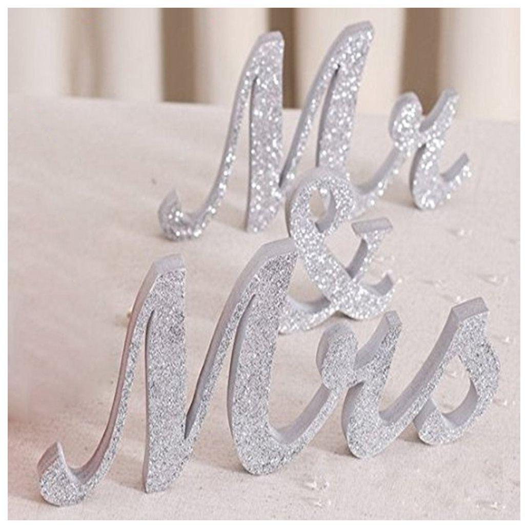 Практичный Бутик Большой Винтаж изысканный белый Mr & Mrs знаки элегантные деревянные отдельно стоящие буквы для свадьбы Милая Tab